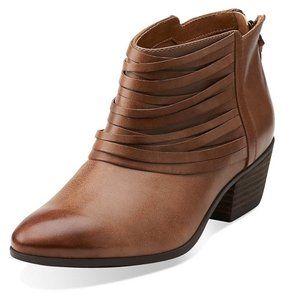 Clarks W Spye Celeste Ankle-High Leather Boot